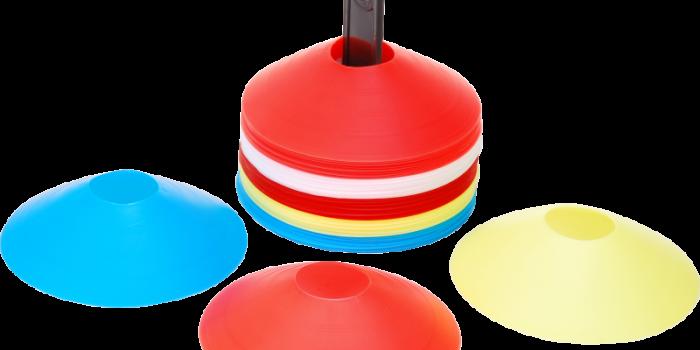 Markierungsteller – 50er Set – 5 Farben